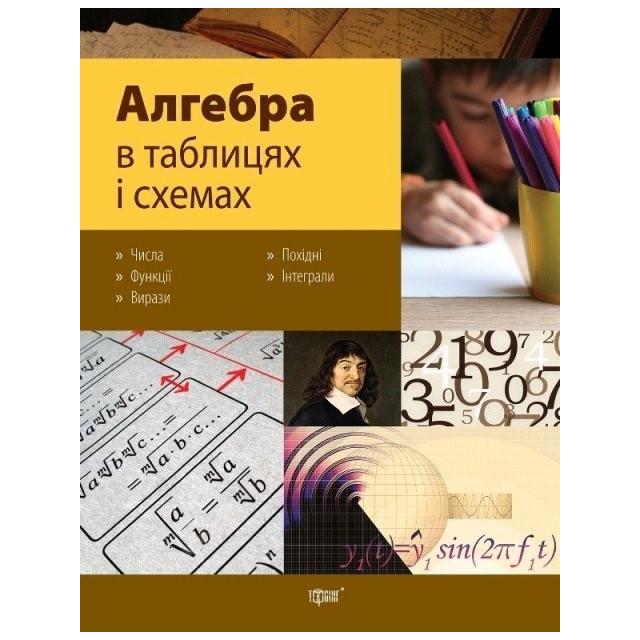 Алгебра в таблицях і схемах (м)
