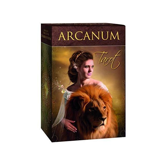 Карты Таро Arcanum (78 карт+брош.)