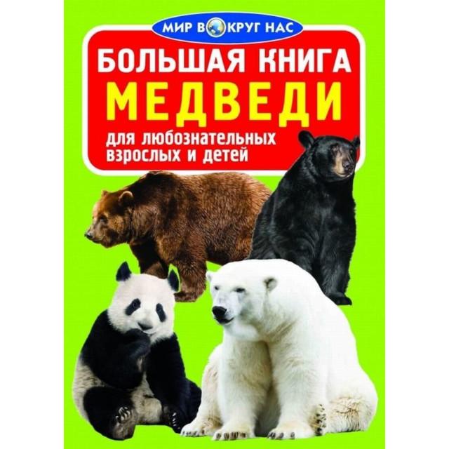 Большая книга. Медведи для любознательных мальчиков и девочек (больш,м)