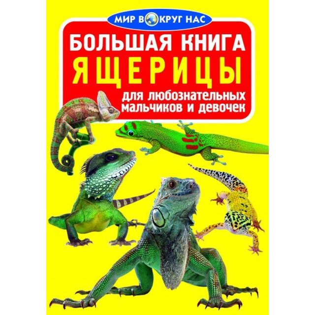 Большая книга. Ящерицы для любознательных мальчиков и девочек